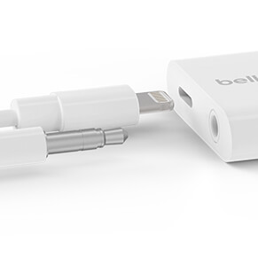 Charge and talk with Belkin's iPhone adapter