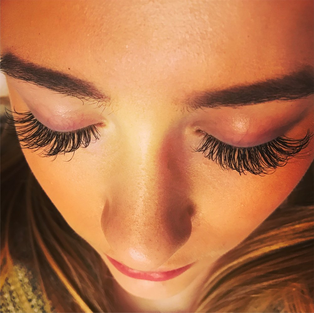 Volume Lashes After