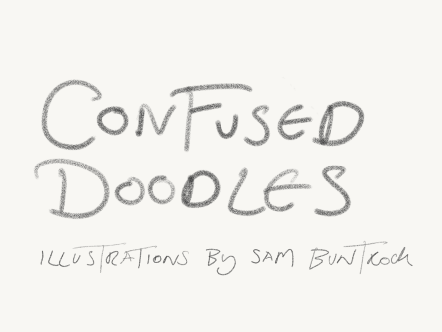 confused doodles