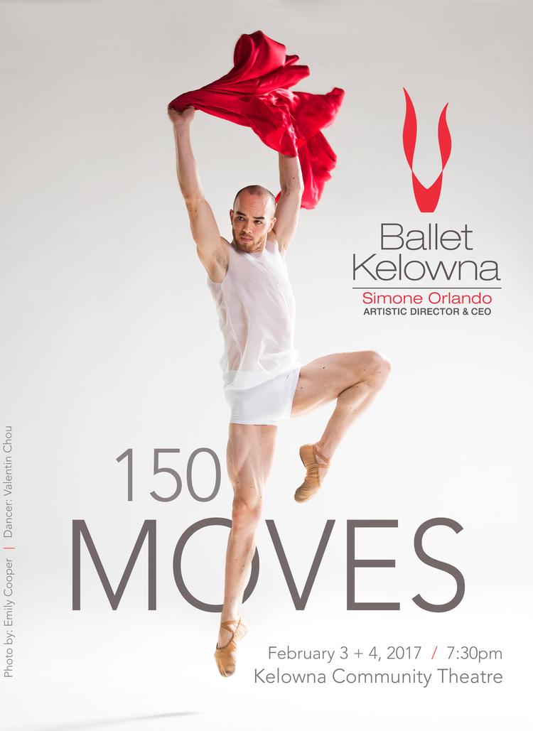 Ballet Kelowna Presents 150 Moves