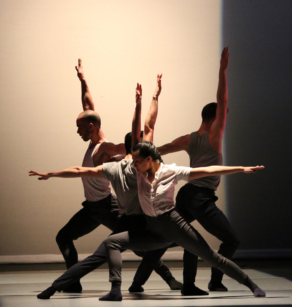 BALLET KELOWNA DANCERS IN STUDIES OF CASH