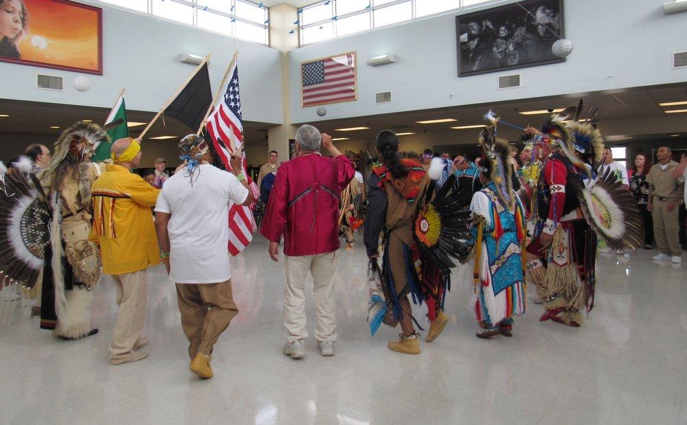 annual prison facility powwow