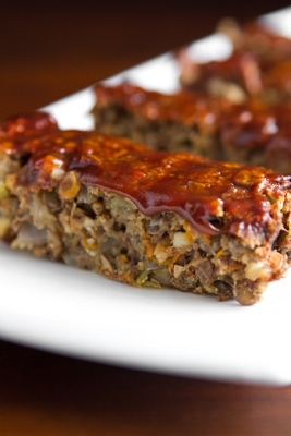 BBQ Quinoa Lentil Loaf - Husband Approved by Jenergy