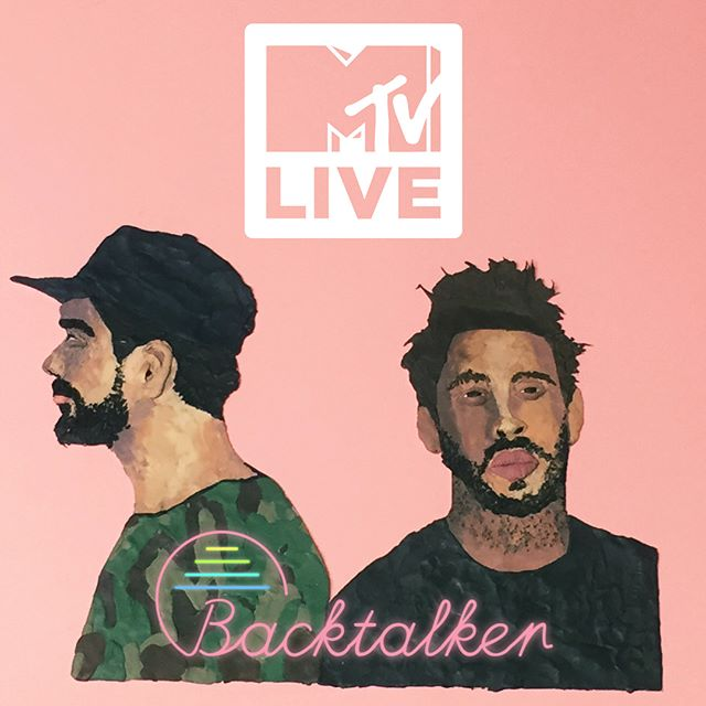 Backtalker video is up on MTV LIVE doing it's thang beside some great company!! Be sure to check it out!! Happy Holidays to you ALL!! #mtv #live #backtalker #clamation