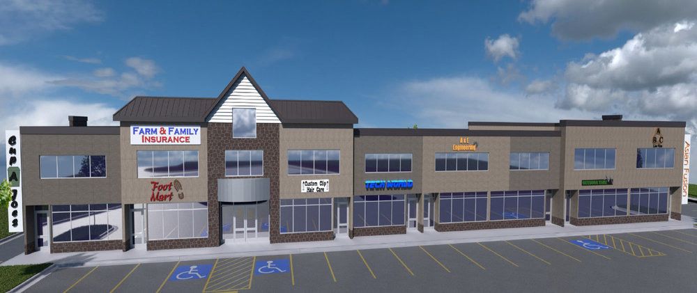Now Leasing 53 Business Center - Located right on Highway 53 and next to the Miller Hill Mall