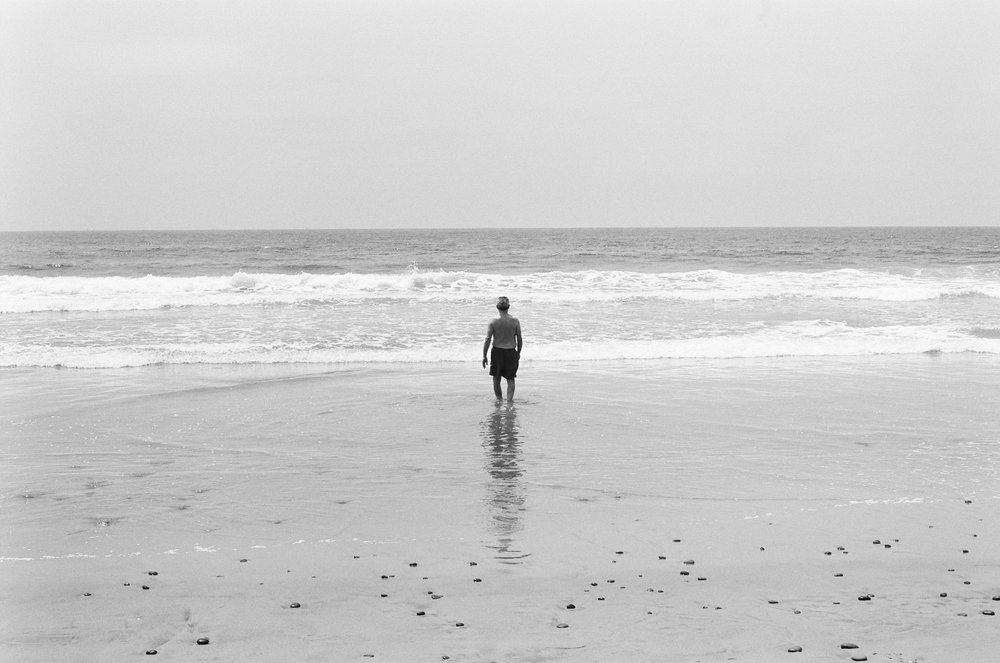 California - July & August  combines a series of photographs made in La Jolla and Ventura, California in the summer of 2018.