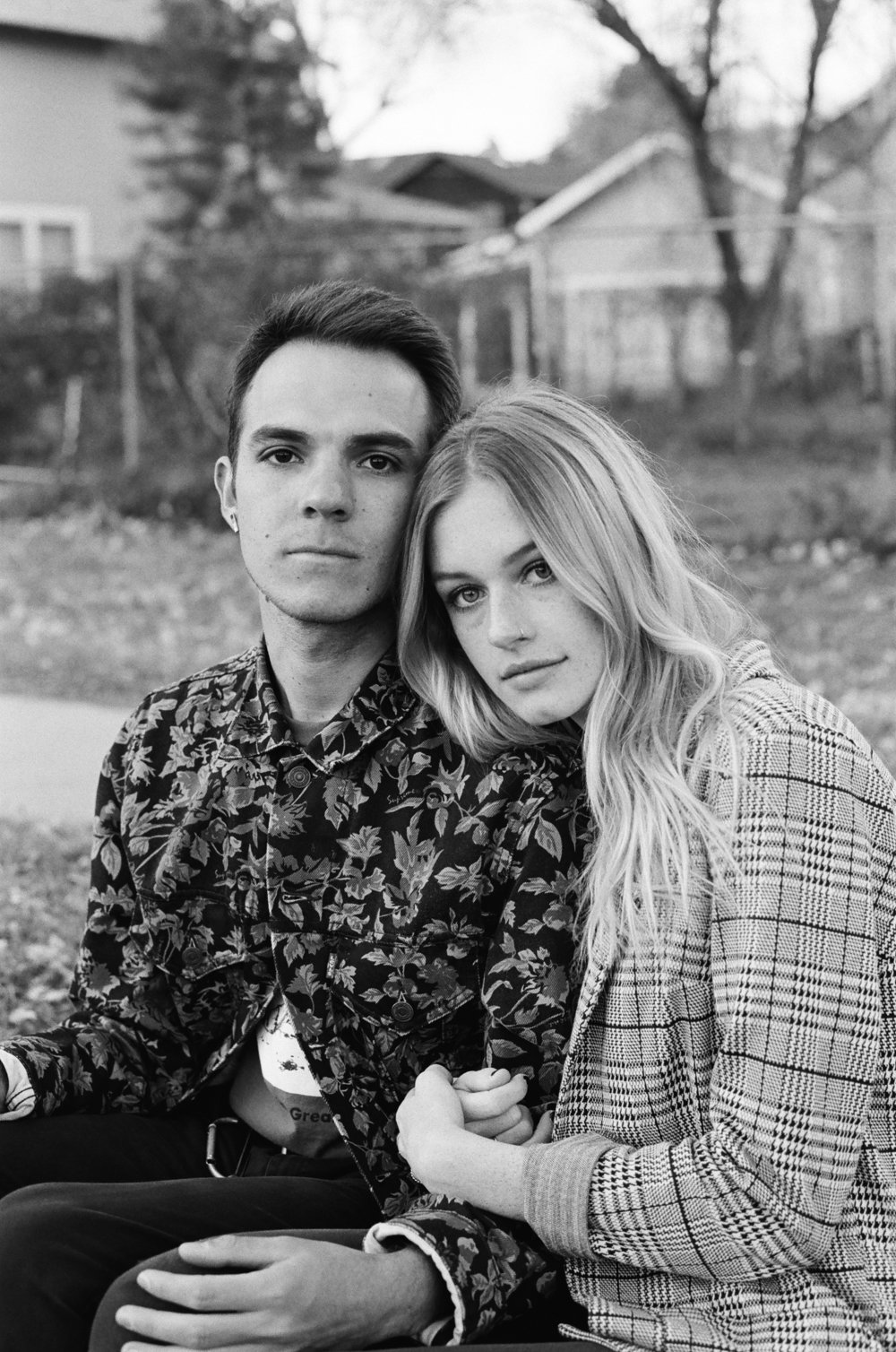 Attached to The Exhilaration of Youth  is a series of photographs   that incorporates portraits and candids of young couples and individuals all shot in Flagstaff, Arizona.