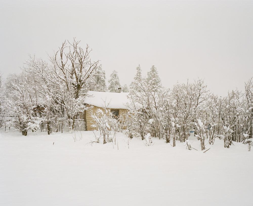 A Solitary Phase  is a series of photographs focusing on the desolate and lonely landscapes of winter in Northern Arizona.