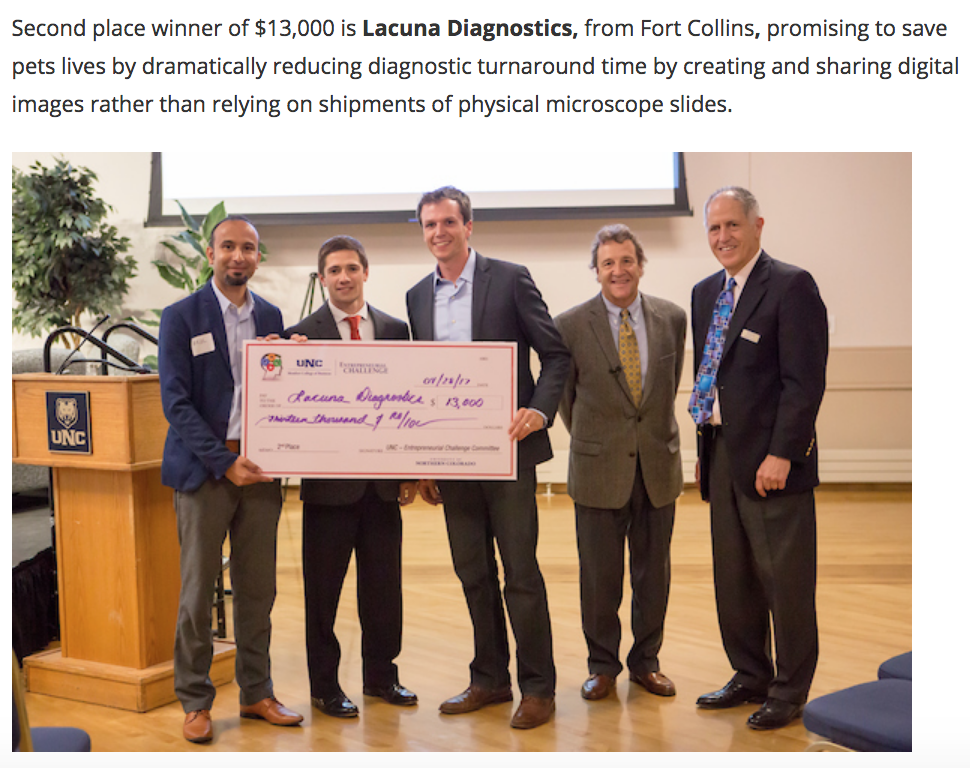 Lacuna | UNC Monfort College of Business Entrepreneurial Challenge