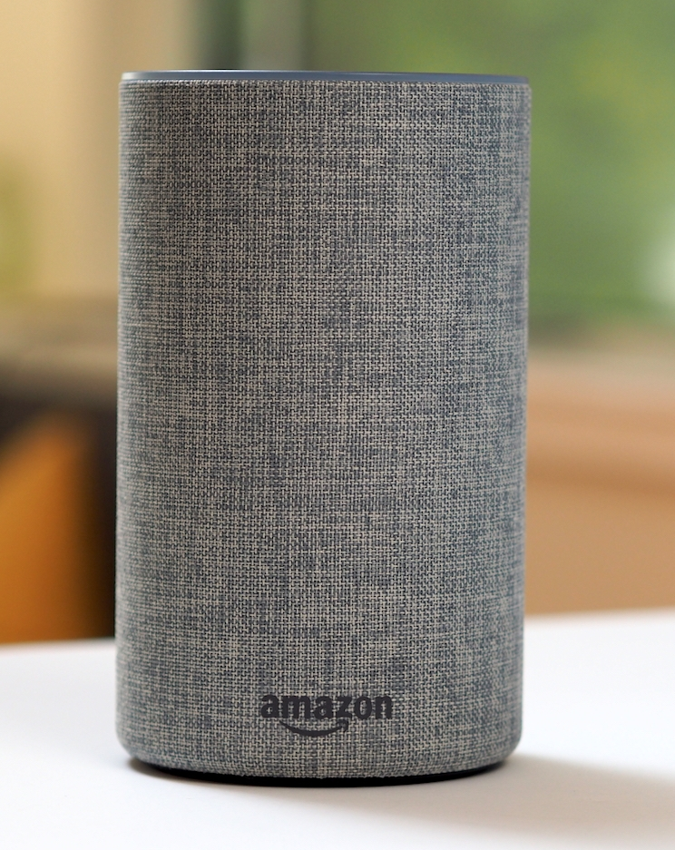 Please enter your name and email address for a chance to win Amazon Echo.  -