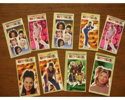 Spice Girl Stickers