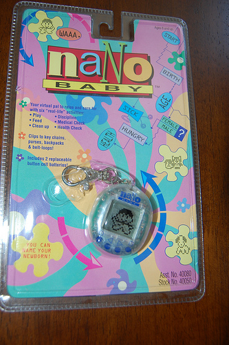 I personally had a Nano Puppy and Baby, tamagotchi weren't my thing