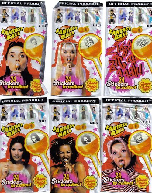 Spice Girl Suckers
