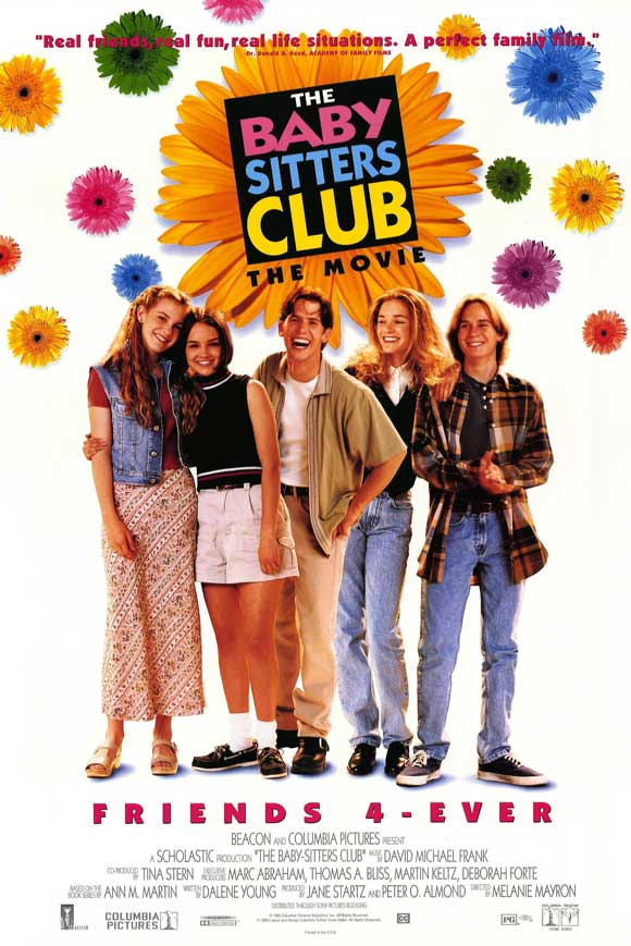 "The Baby Sitters Club Movie, when it was still cool to write ""4-Ever"""