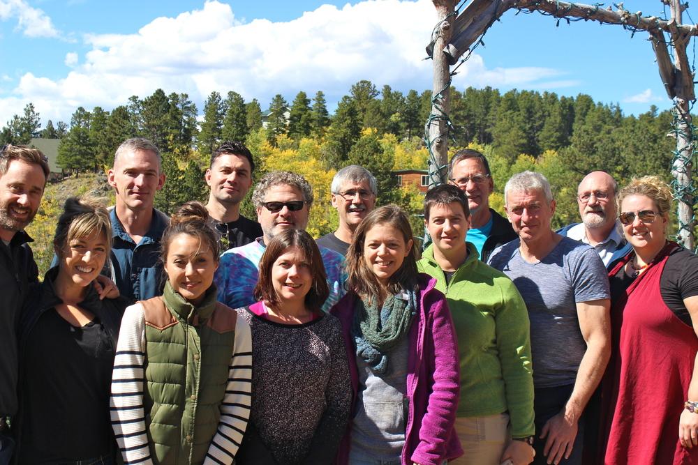 Alpenglow Retreat, Colorado, September 2015 - photo M. Fryer