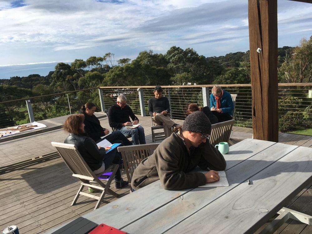 Flinders Retreat, Mornington Peninsula April 2017