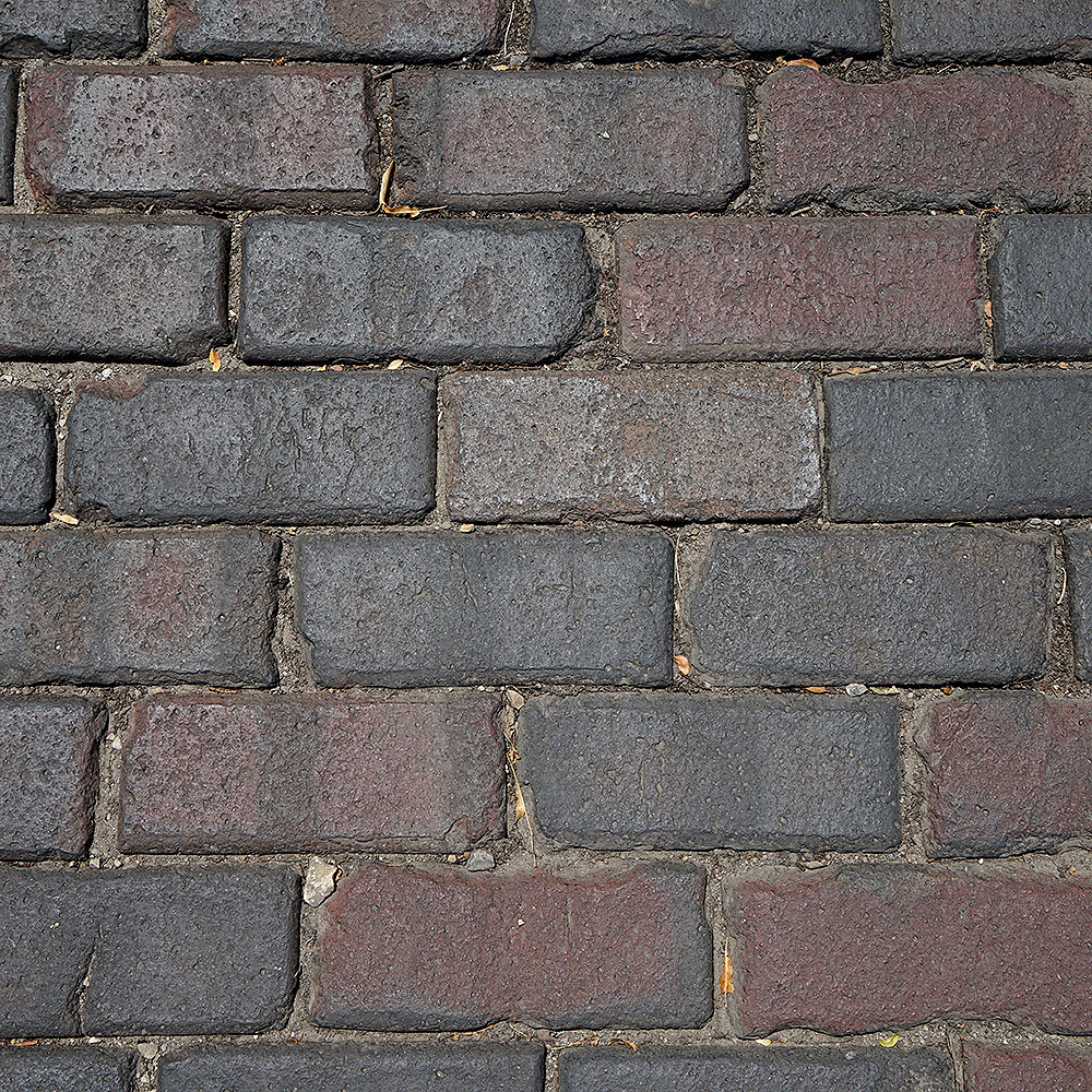 Vitrified Brick - Purple