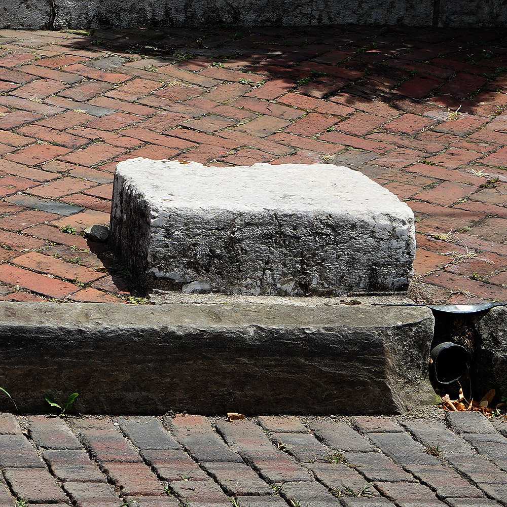 Carriage Stepping Stone