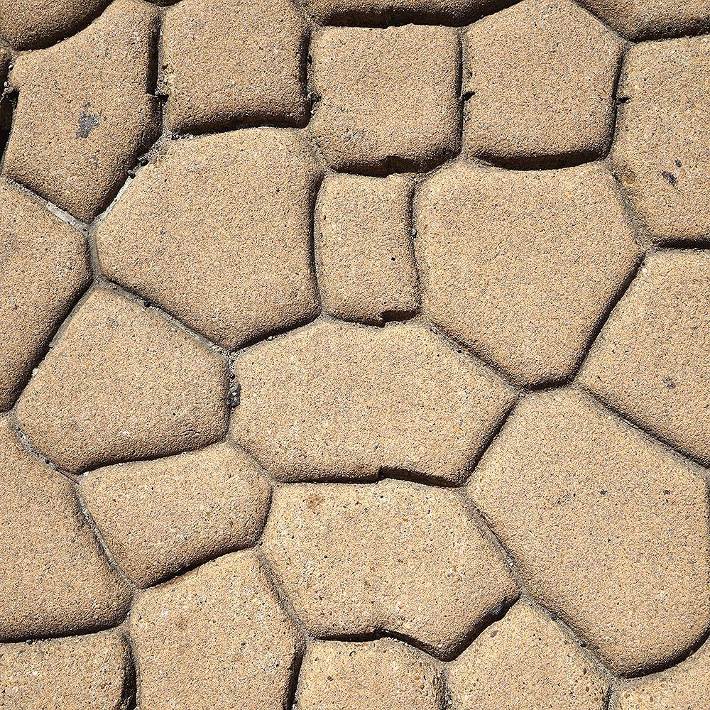Stamped Concrete - Cobblestone Pattern