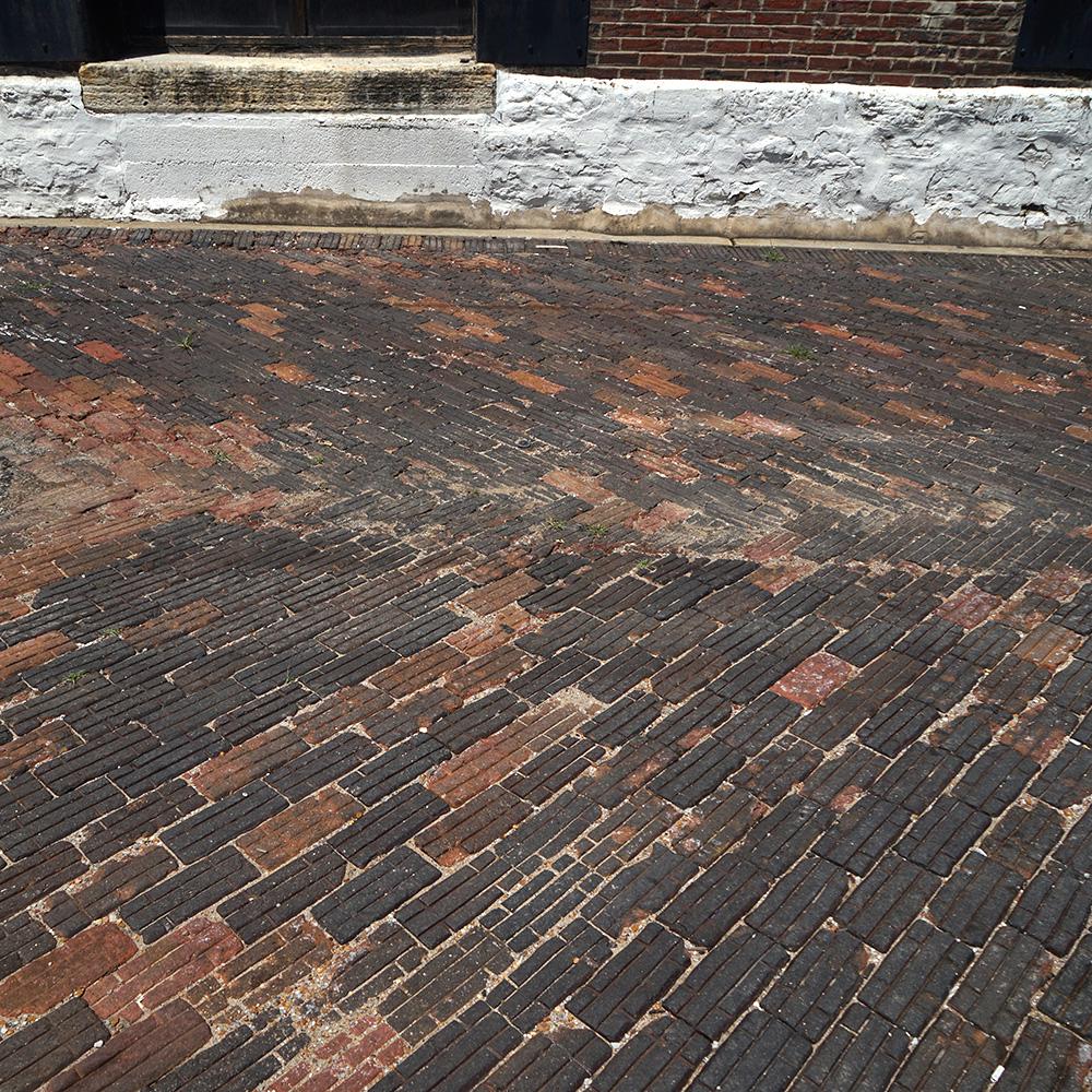 Vitrified Brick - Black
