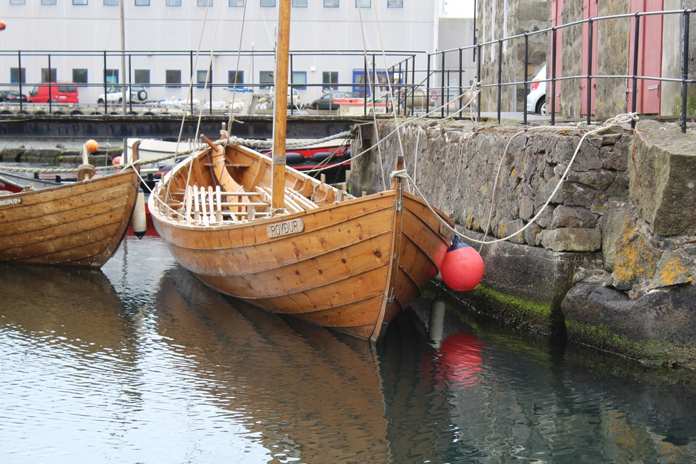 "Example of a ""clinker"" or ""lap-strake"" boat from the Faroe Islands"