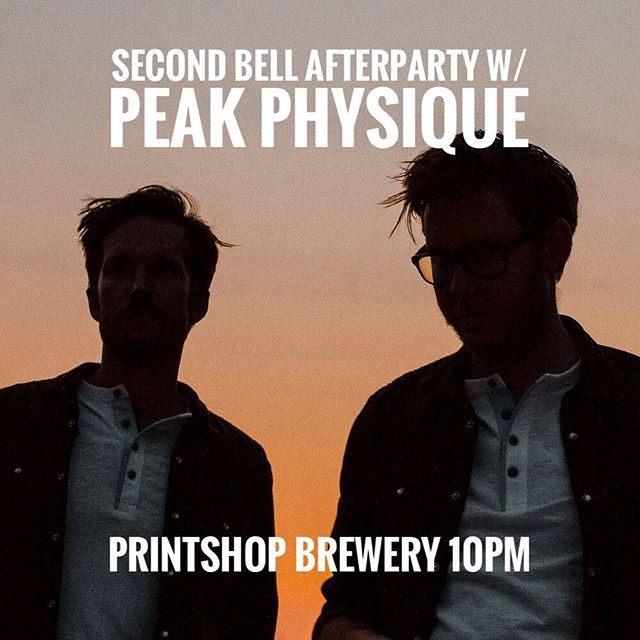Two bells. Two boys. See you Saturday #knoxville @secondbellfest @printshopbeer