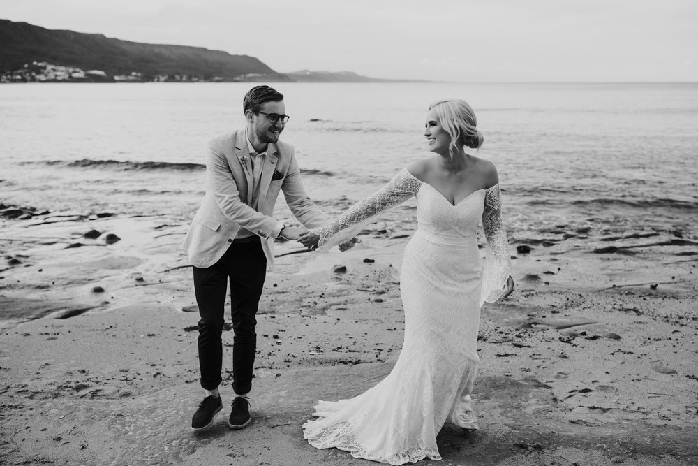 Sandon Point Wedding