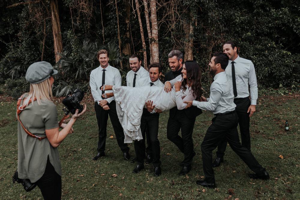 Female wedding photographer Illawarra