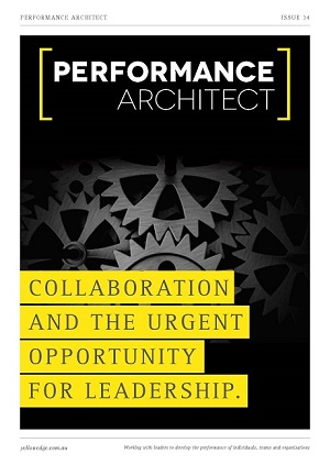Collaboration and the urgent opportunity for leadership