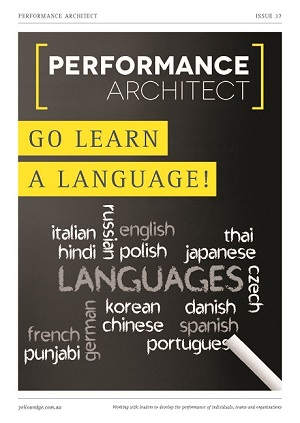 Go learn a language, Rosetta Stone, leadership