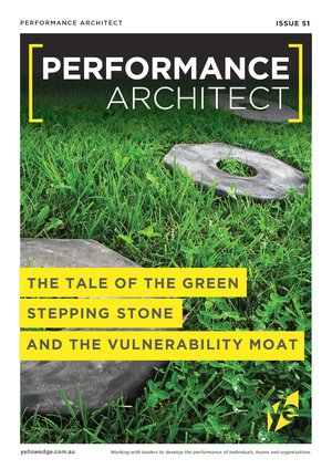 The tale of the green stepping stone and the vulnerability moat