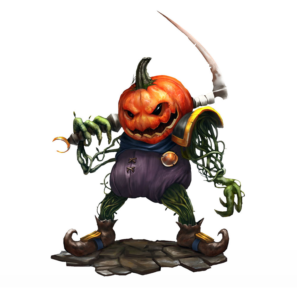 Jack The Pumpkin Champion - Private Commission