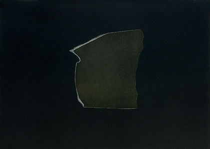 Kay Harvey Memory & Desire I, Iceberg Series I, 2008, 30.25 x 42.75 inches, Monotype, Oil on Paper,