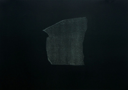 Kay Harvey Memory & Desire III, Iceberg Series I, 2008, 30.25 x 42.75 inches, monotype, Oil on Paper
