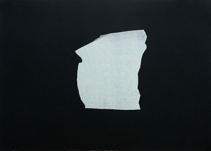 Kay Harvey Memory & Desire II, Iceberg Series I, 2008, 30.25 x 42.75 inches, monotype, Oil on Paper