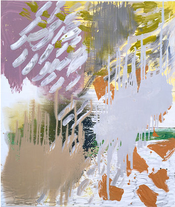 Kay Harvey V, Elements, 2001, 65 x 55 inches, painting, Oil on Canvas