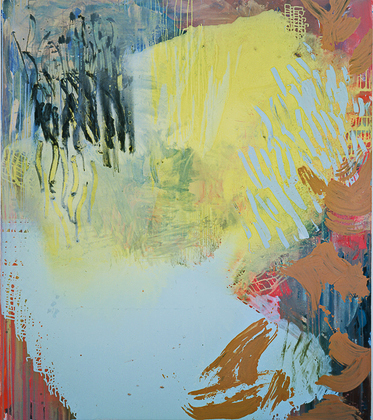 Kay Harvey Untitled, Iceberg Series I, 2009, 31 x 33 inches, Monotype, Oil on Paper