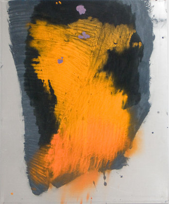 Kay Harvey Strocotto II, Works on Metal, 2008-2006, 59 x 47 inches, painting, Oil & Carborundum on Aluminum Sheets