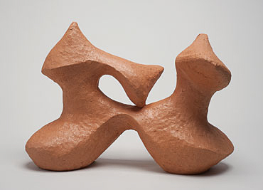 """Nino Caruso  La Chimera , 2009, 2009, terra cotta, 15.5""""h x 25.5""""w x 10.5"""""""