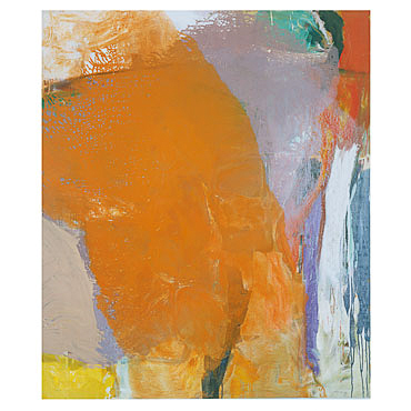 Kay Harvey Untitled 24, Pentimento, 2003, 65 x 44 inches, painting, Oil on Canvas