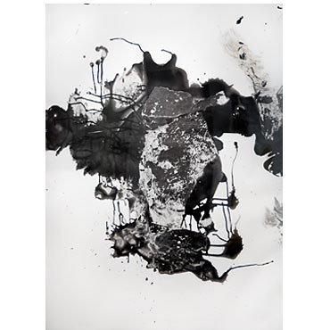 Kay Harvey Untitled, Versace Series, 1997 - 1994, 36 x 24 inches, monotype, Monotype, Oil on Vellum