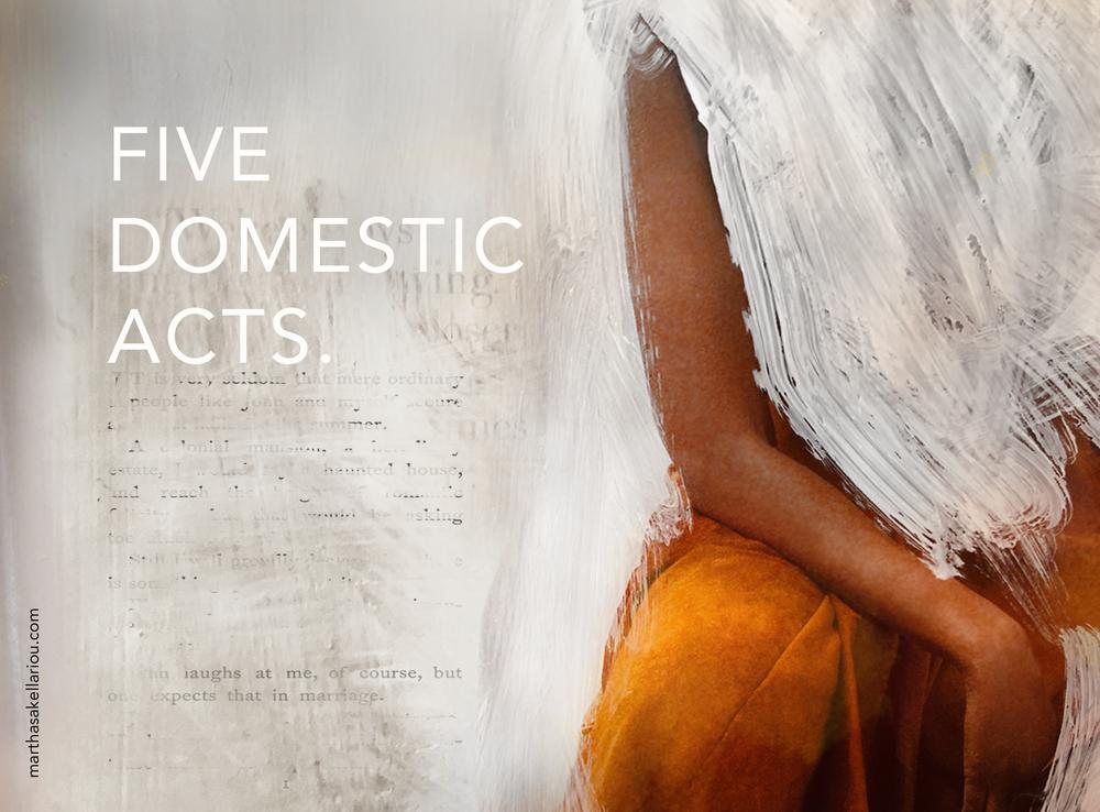 Domestic portrait I [Women of Substance] 2019
