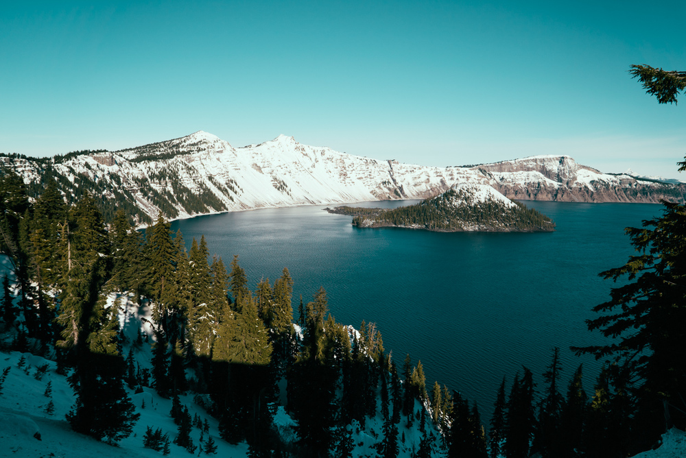 CRATER LAKE AT LAST!