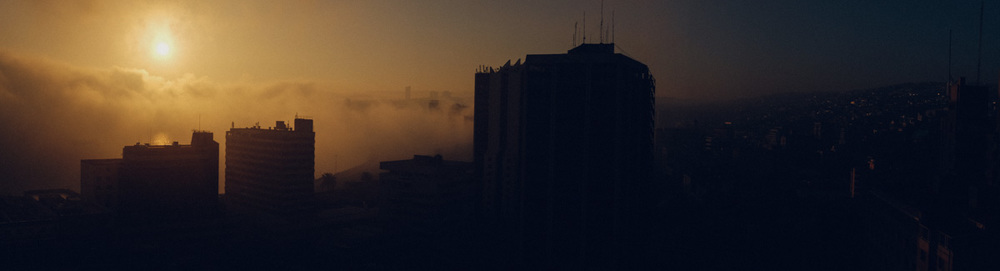 Sunrise in Valparaiso.