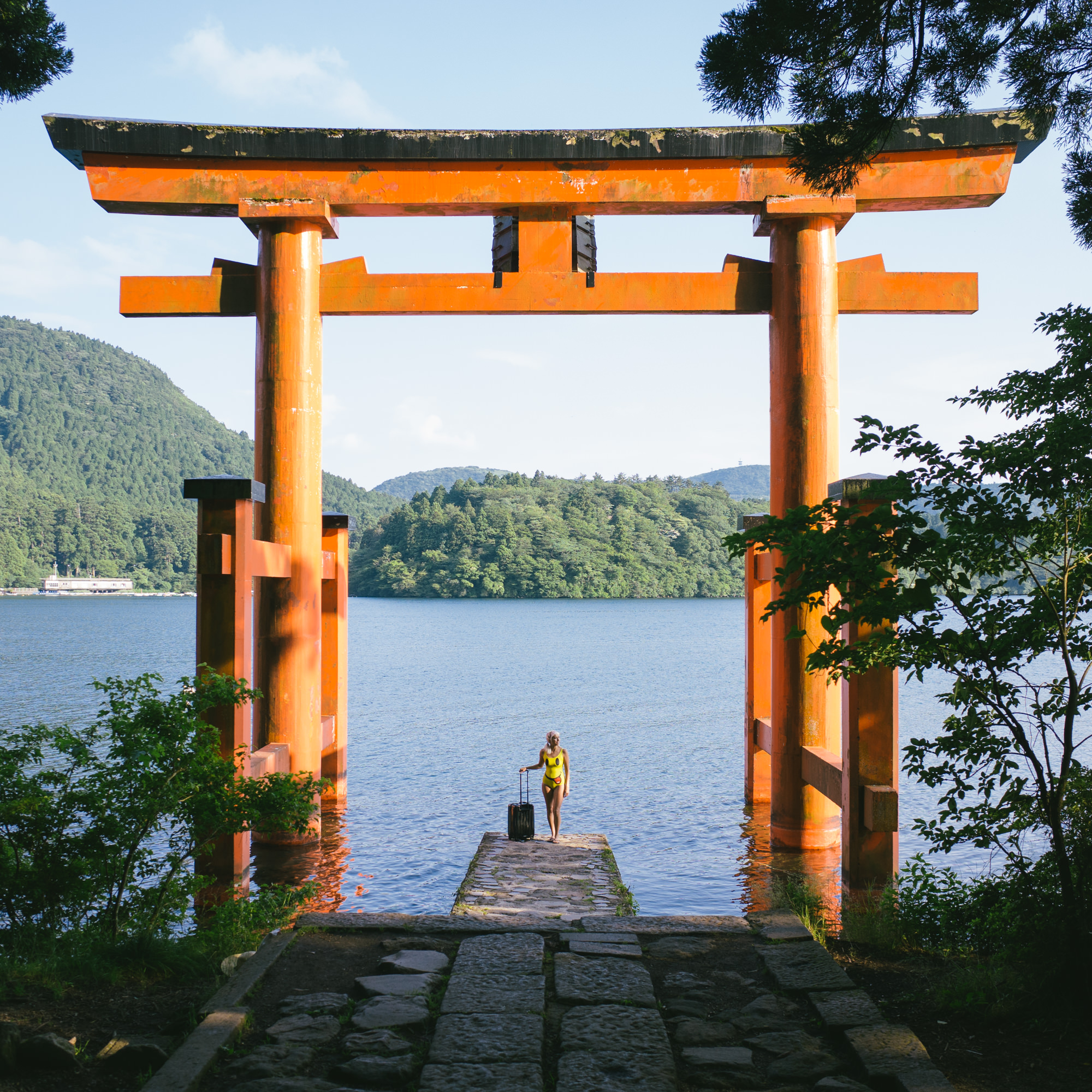 how to get to hakone hot springs from tokyo
