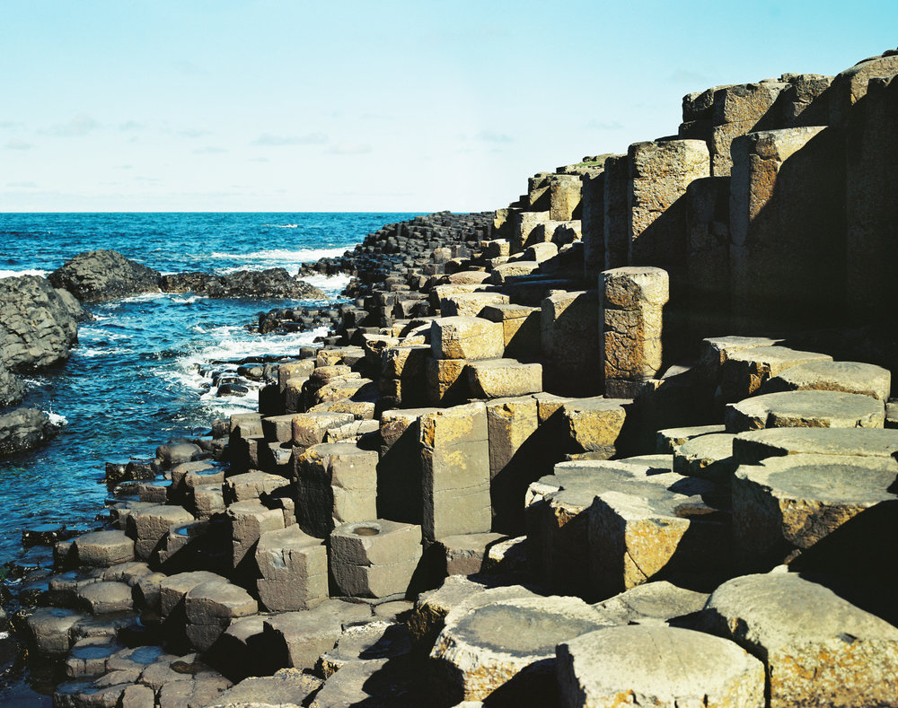 Giant's Causeway shot on film.