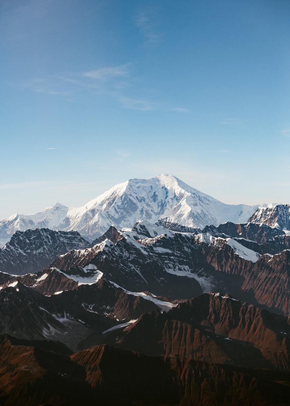 Getting closer to Denali (Mount McKinley)
