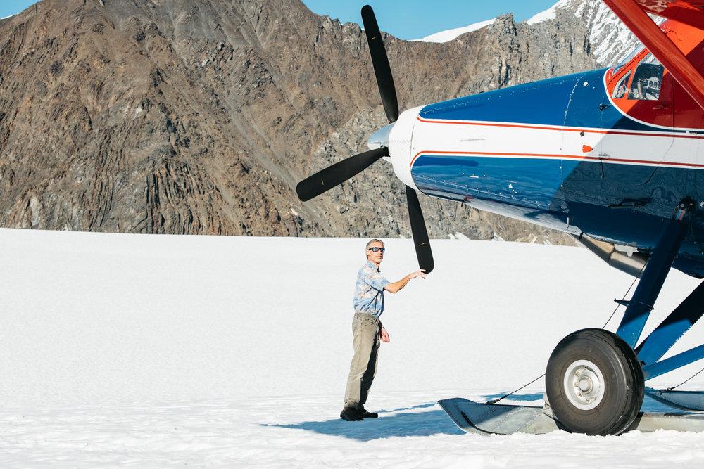 Our pilot, Richard