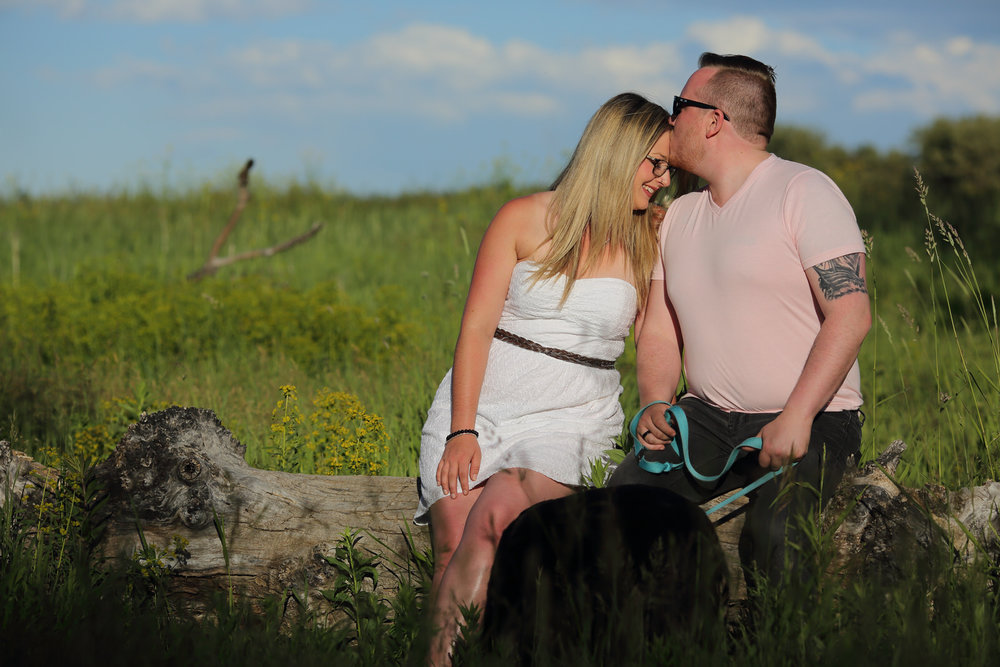Engagement Photos Fish Creek park Calgary, AB
