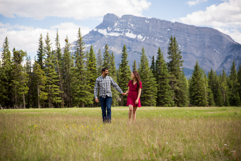 Banff Engagement Photos